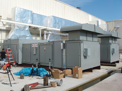 Industrial Heating and Cooling System Service